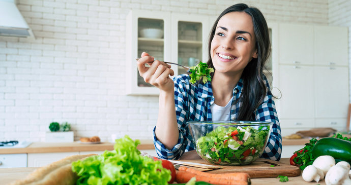 Sağlık, çekicilik ve canlılık için gıda